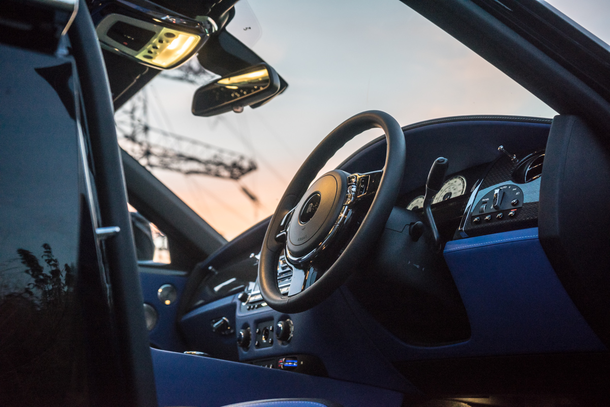 Disappearing Act in the Rolls-Royce Black Badge Ghost 3