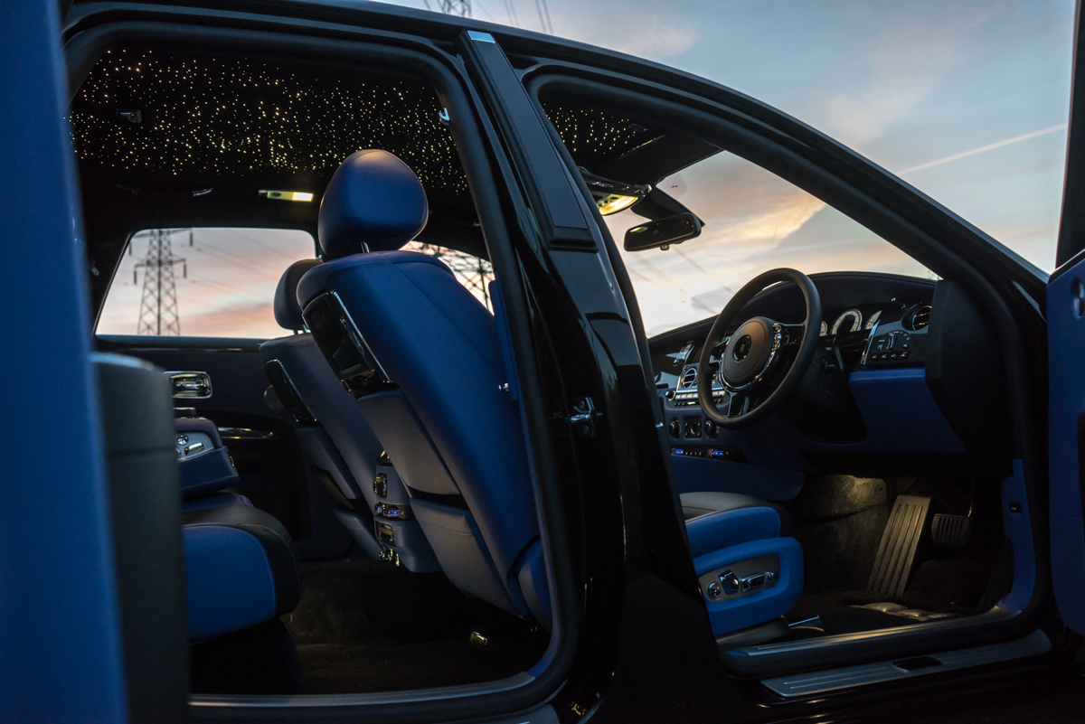 Disappearing Act in the Rolls-Royce Black Badge Ghost 2