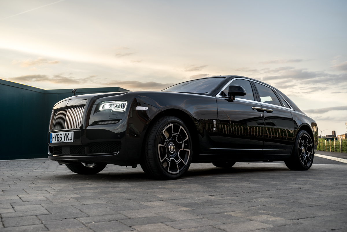 Disappearing Act in the Rolls-Royce Black Badge Ghost 1