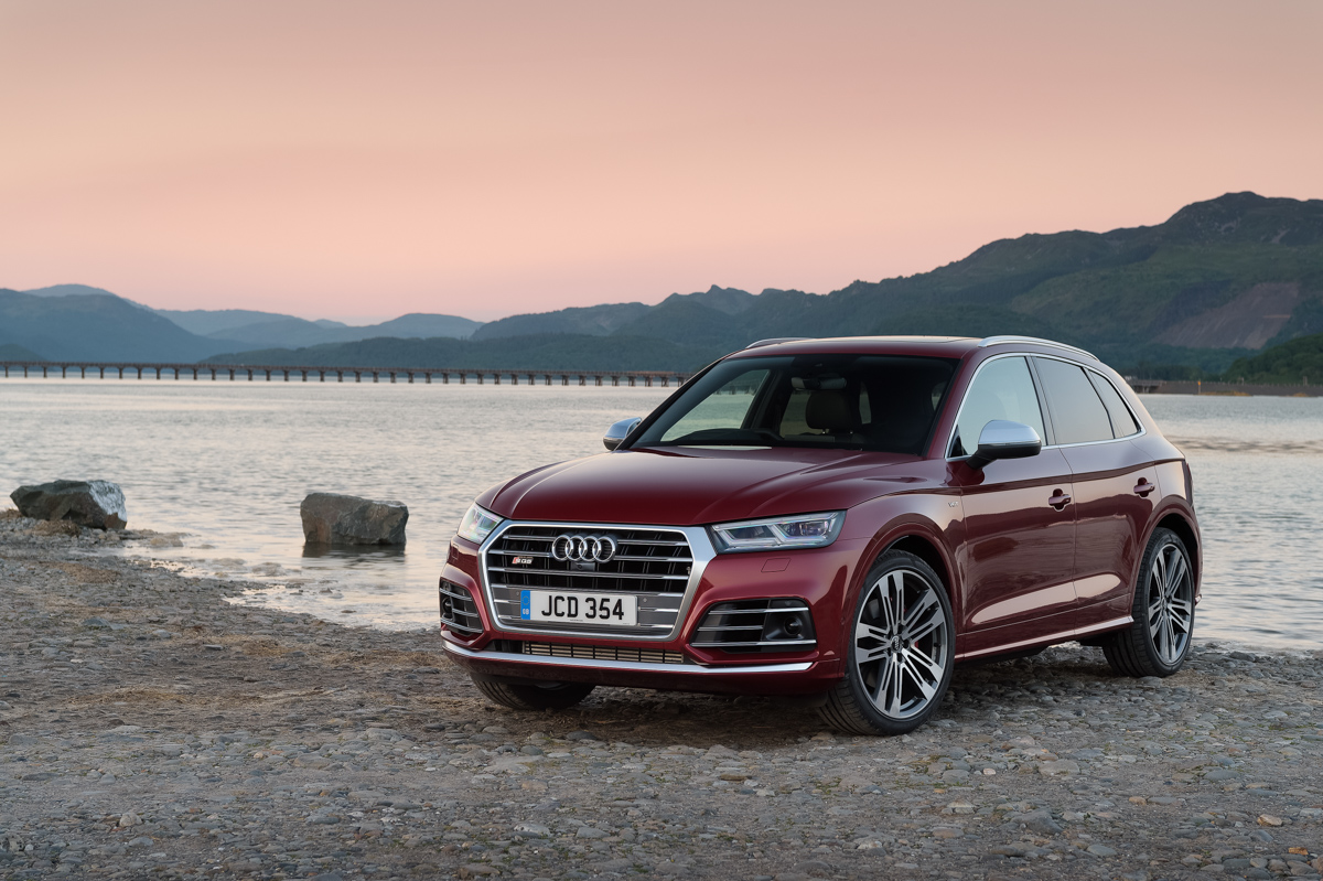 Four-Wheel Fun in The Audi SQ5 7