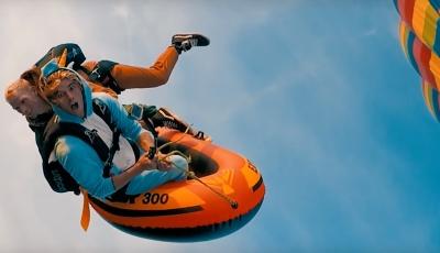 Hot Air Balloon Rafting With Morgan Oliver-Allen & Jay Alvarrez