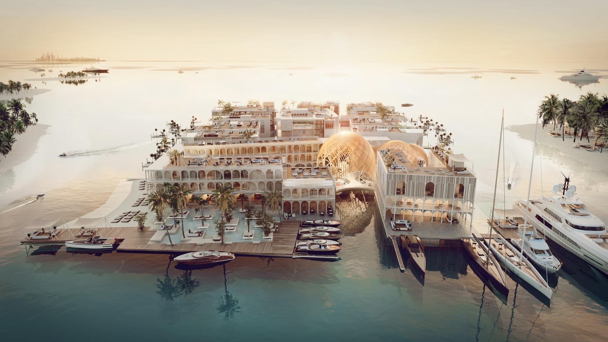 Venedig im Herzen von Dubai: The Floating Venice 2