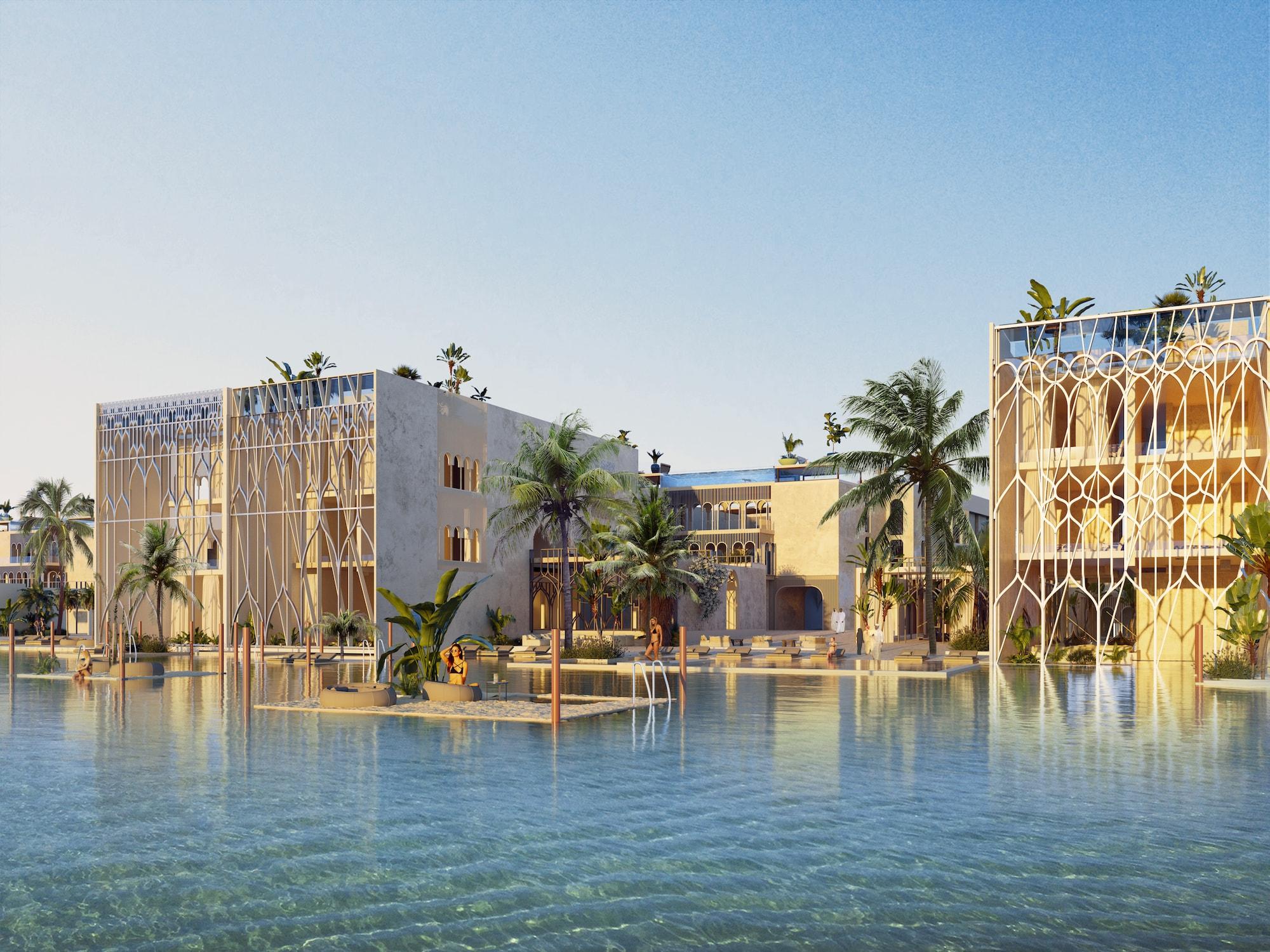 Venedig im Herzen von Dubai: The Floating Venice 6