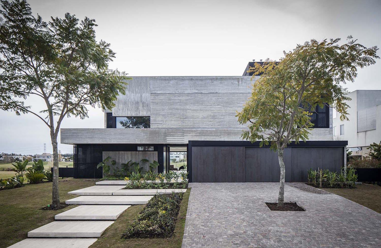 Modernes betonhaus in buenos aires von remy architects for Modernes betonhaus