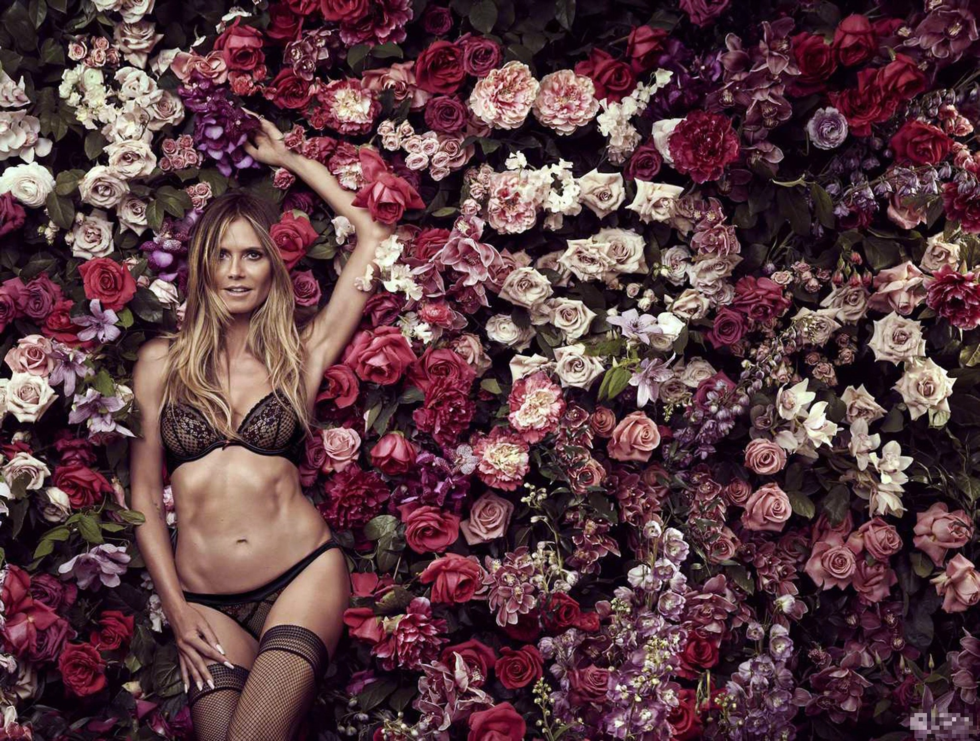 Intimates: Heidi Klum präsentiert neue Dessous Kollektion 5