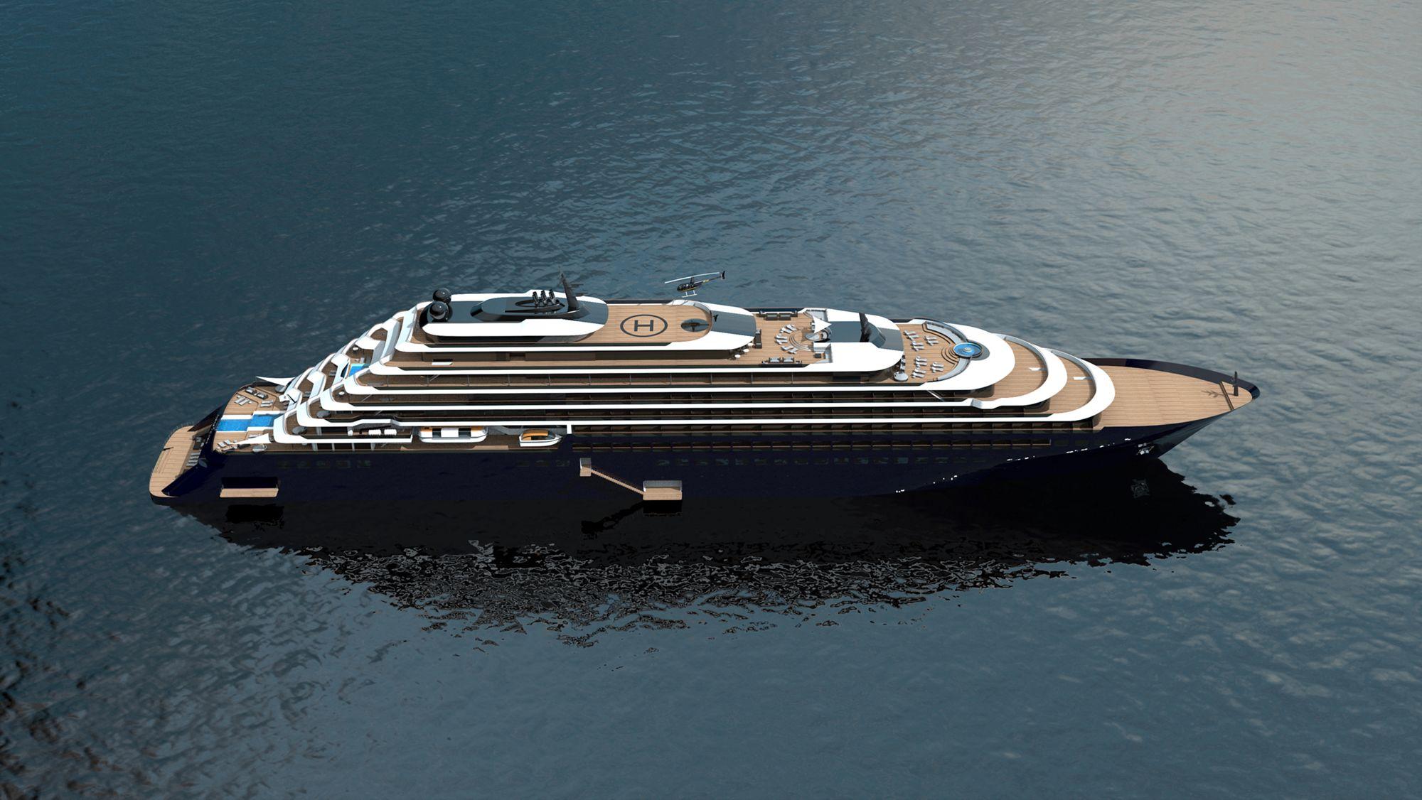 Ab 2019 auf den Weltmeeren der Welt unterwegs: Die Ritz-Carlton Yacht 2