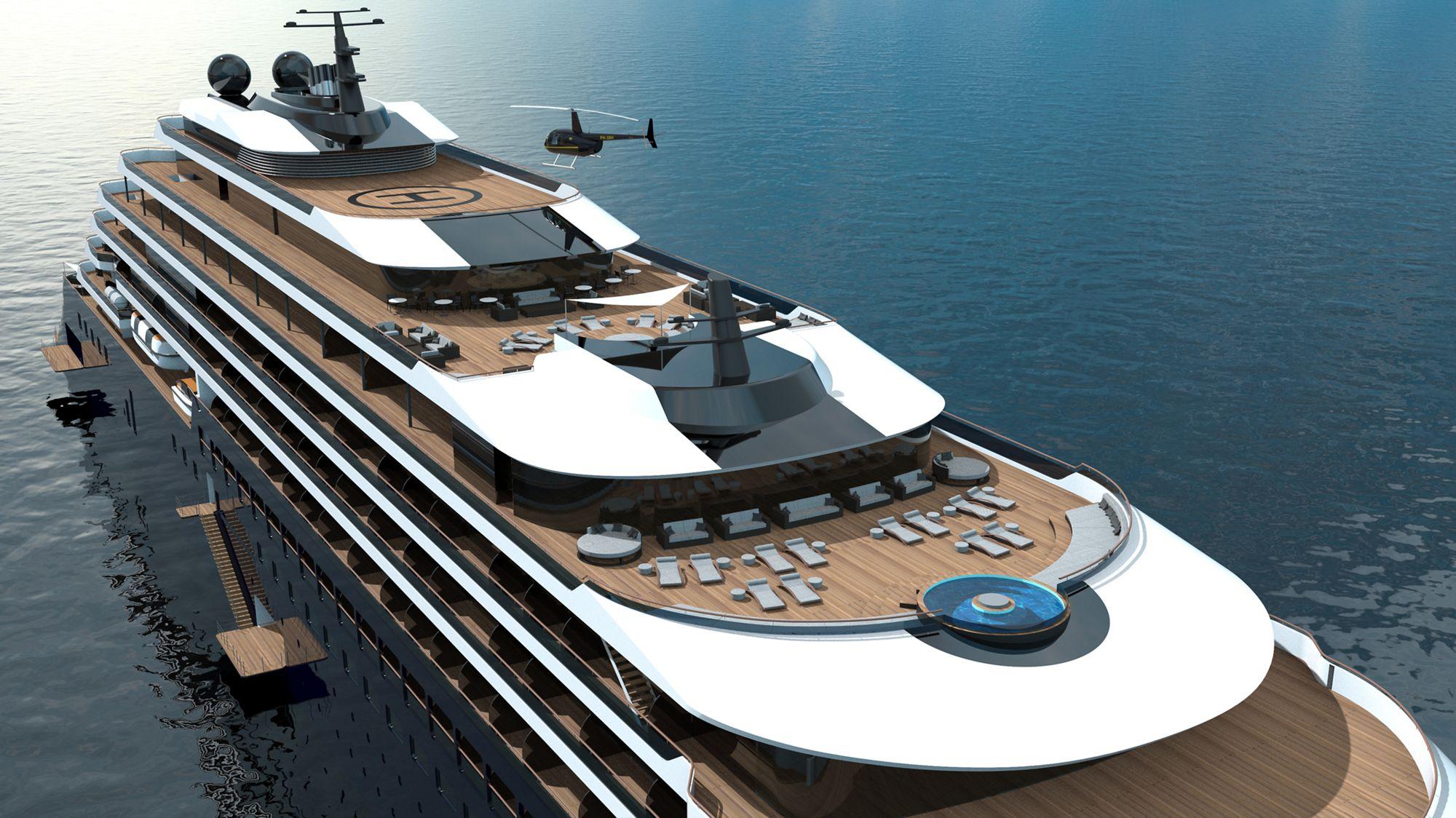 Ab 2019 auf den Weltmeeren der Welt unterwegs: Die Ritz-Carlton Yacht 4