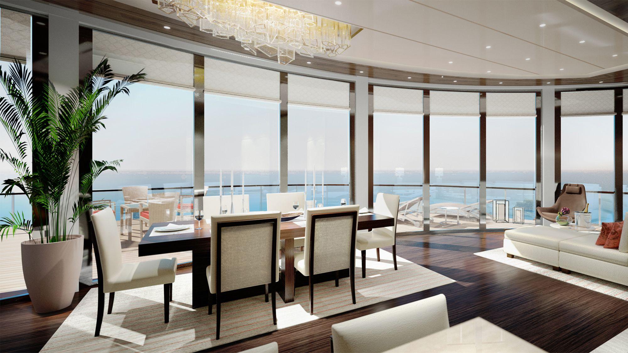 Ab 2019 auf den Weltmeeren der Welt unterwegs: Die Ritz-Carlton Yacht 5