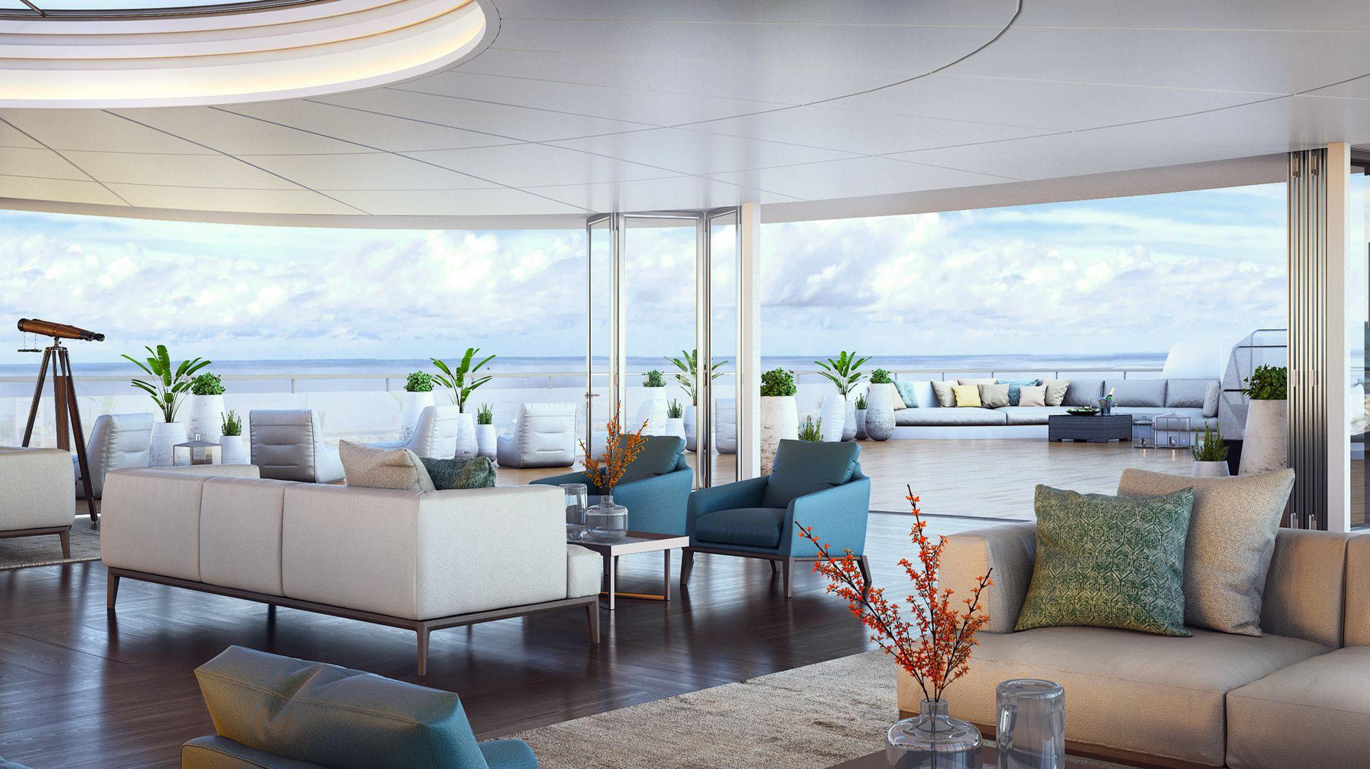 Ab 2019 auf den Weltmeeren der Welt unterwegs: Die Ritz-Carlton Yacht 6