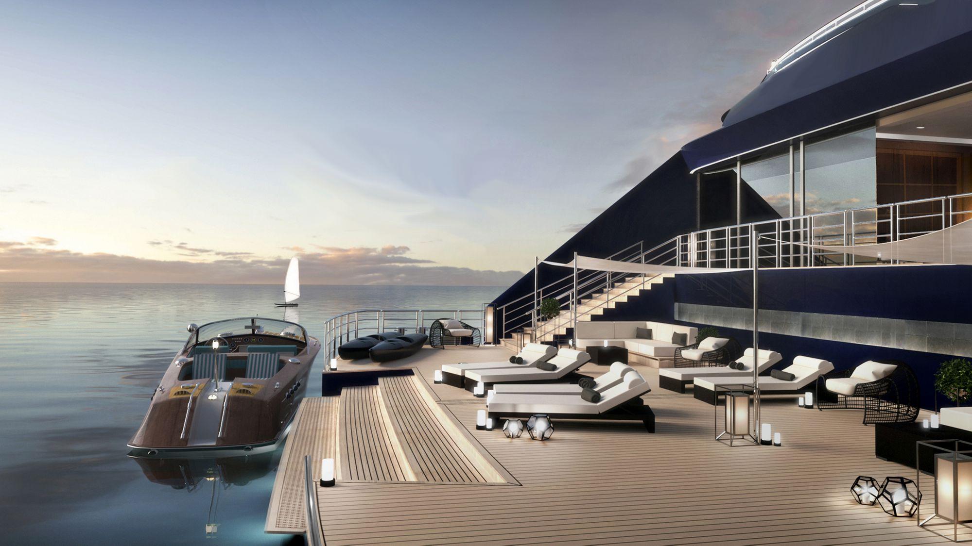 Ab 2019 auf den Weltmeeren der Welt unterwegs: Die Ritz-Carlton Yacht 9