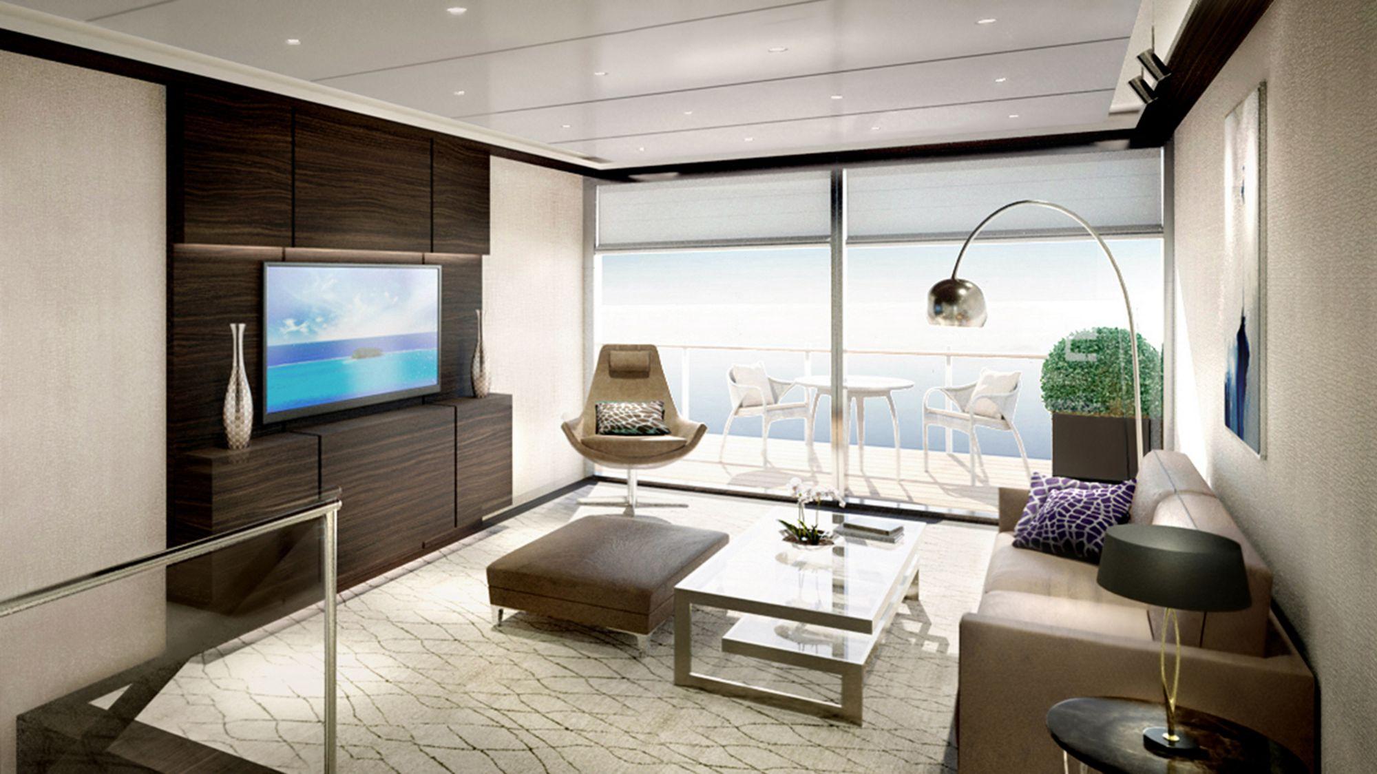 Ab 2019 auf den Weltmeeren der Welt unterwegs: Die Ritz-Carlton Yacht 11