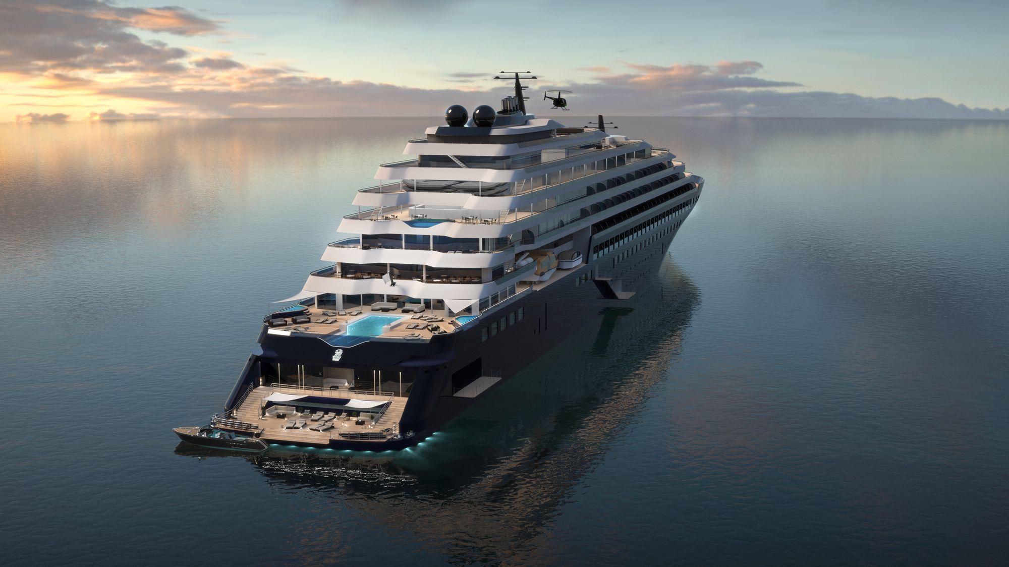 Ab 2019 auf den Weltmeeren der Welt unterwegs: Die Ritz-Carlton Yacht 1