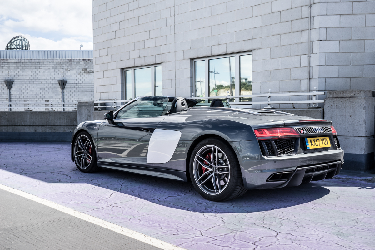 Daily Driving The Audi R8 Spyder 7