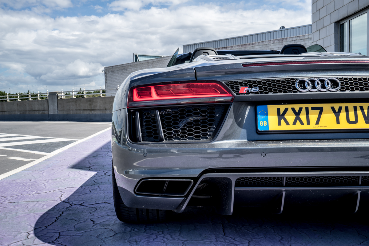 Daily Driving The Audi R8 Spyder 3