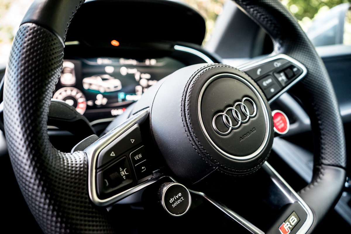 Daily Driving The Audi R8 Spyder 4