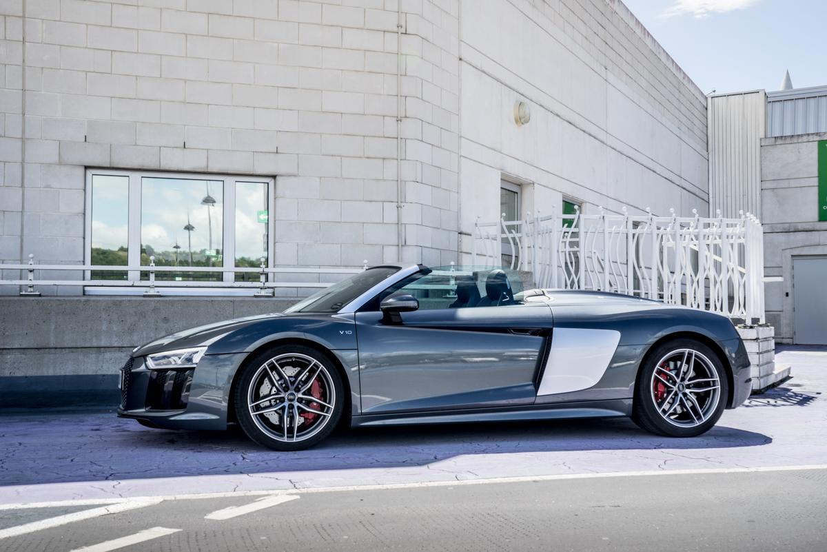 Daily Driving The Audi R8 Spyder 1