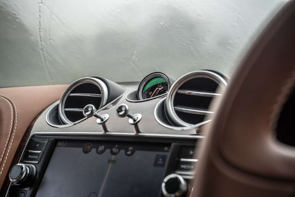 Highland Touring in The Bentley Bentayga Diesel 5