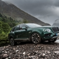 Highland Touring in The Bentley Bentayga Diesel