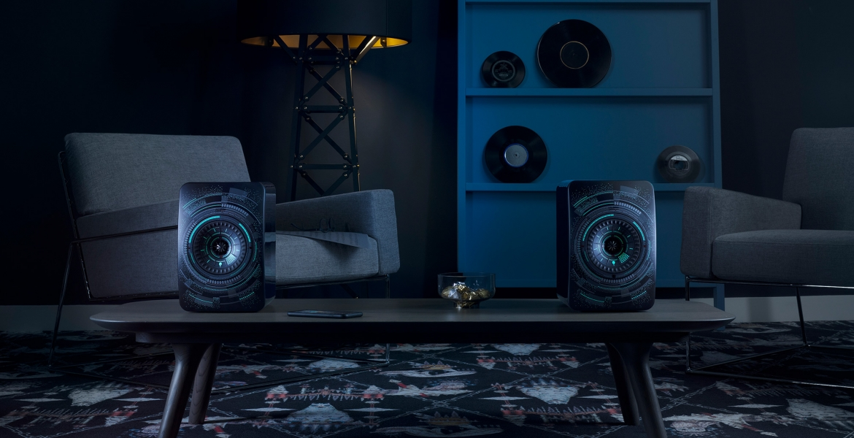 KEF stellt LS50 Wireless 'Nocturne' by Marcel Wanders vor