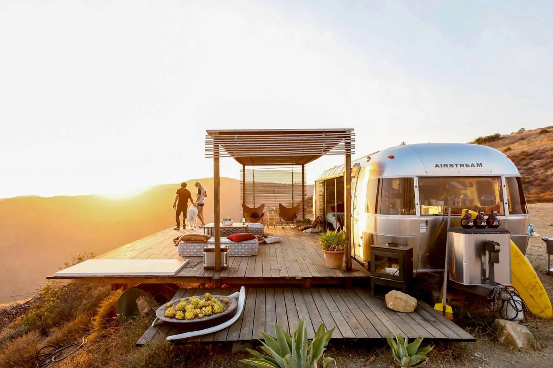 Airbnb mal anders: Schlafen im Malibu Dream Airstream 1