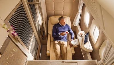 So fliegt man in den neuen First-Class Suites von Emirates