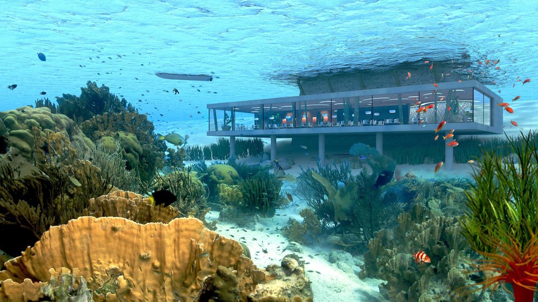 Das Amber Resort auf Zanzibar mit Unterwasser-Restaurant 1