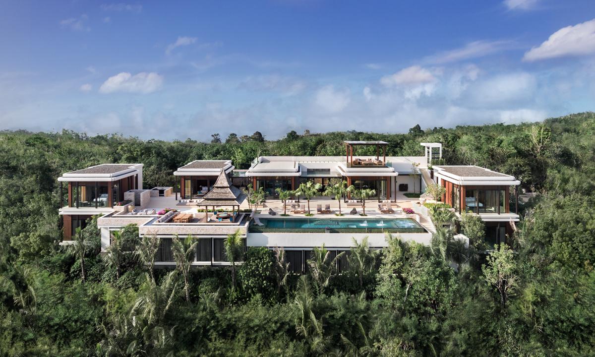 Eight Bedroom Villa at Layan Residences by Anantara, Phuket 12