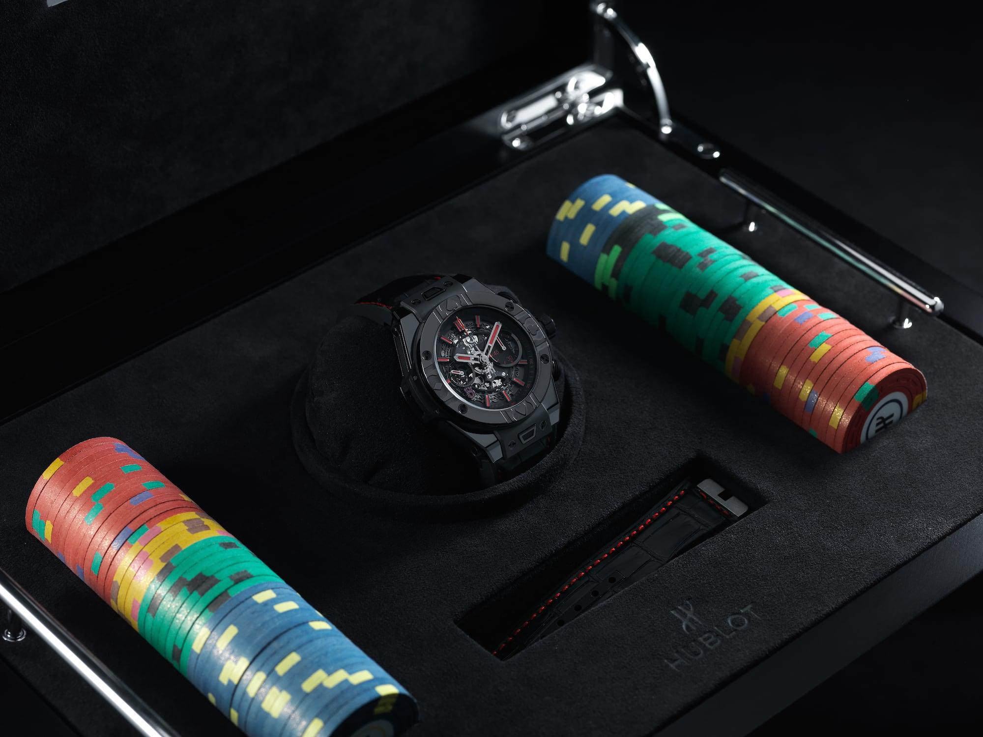 Hublot Big Bang Unico World Poker Tour Limited Edition 03
