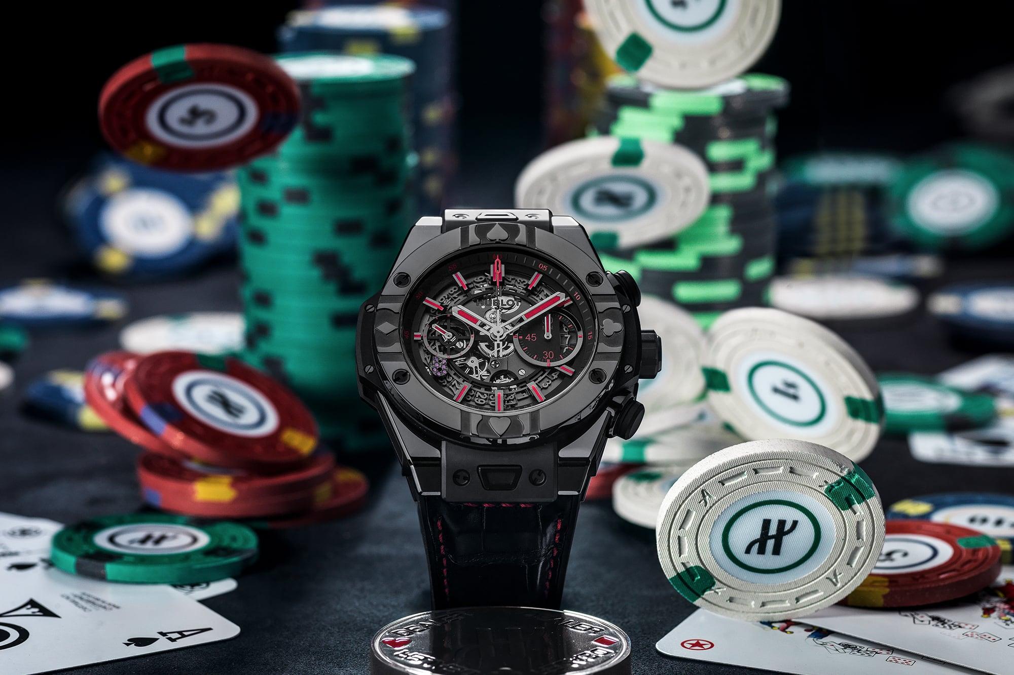 Hublot Big Bang Unico World Poker Tour Limited Edition featured