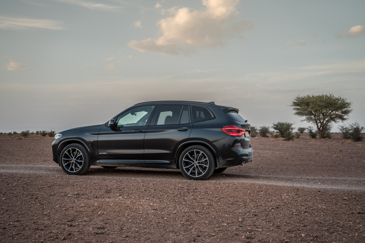 Dune Driving In Morocco With the New BMW X3 5