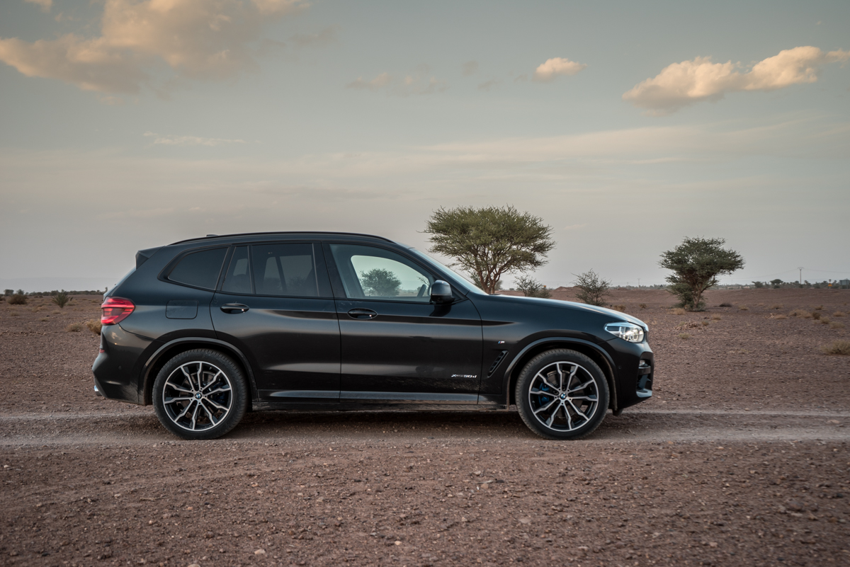 Dune Driving In Morocco With the New BMW X3 4