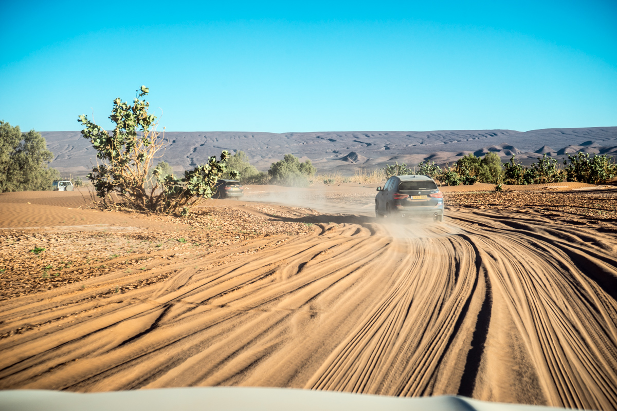 Dune Driving In Morocco With the New BMW X3 12