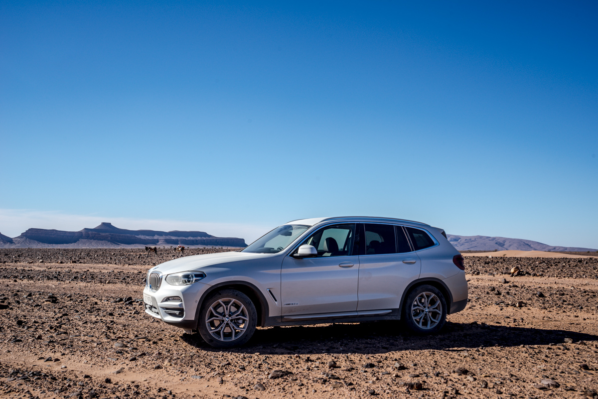 Dune Driving In Morocco With the New BMW X3 14
