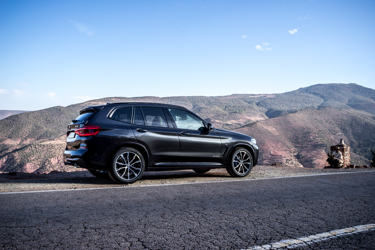 Dune Driving In Morocco With the New BMW X3 11