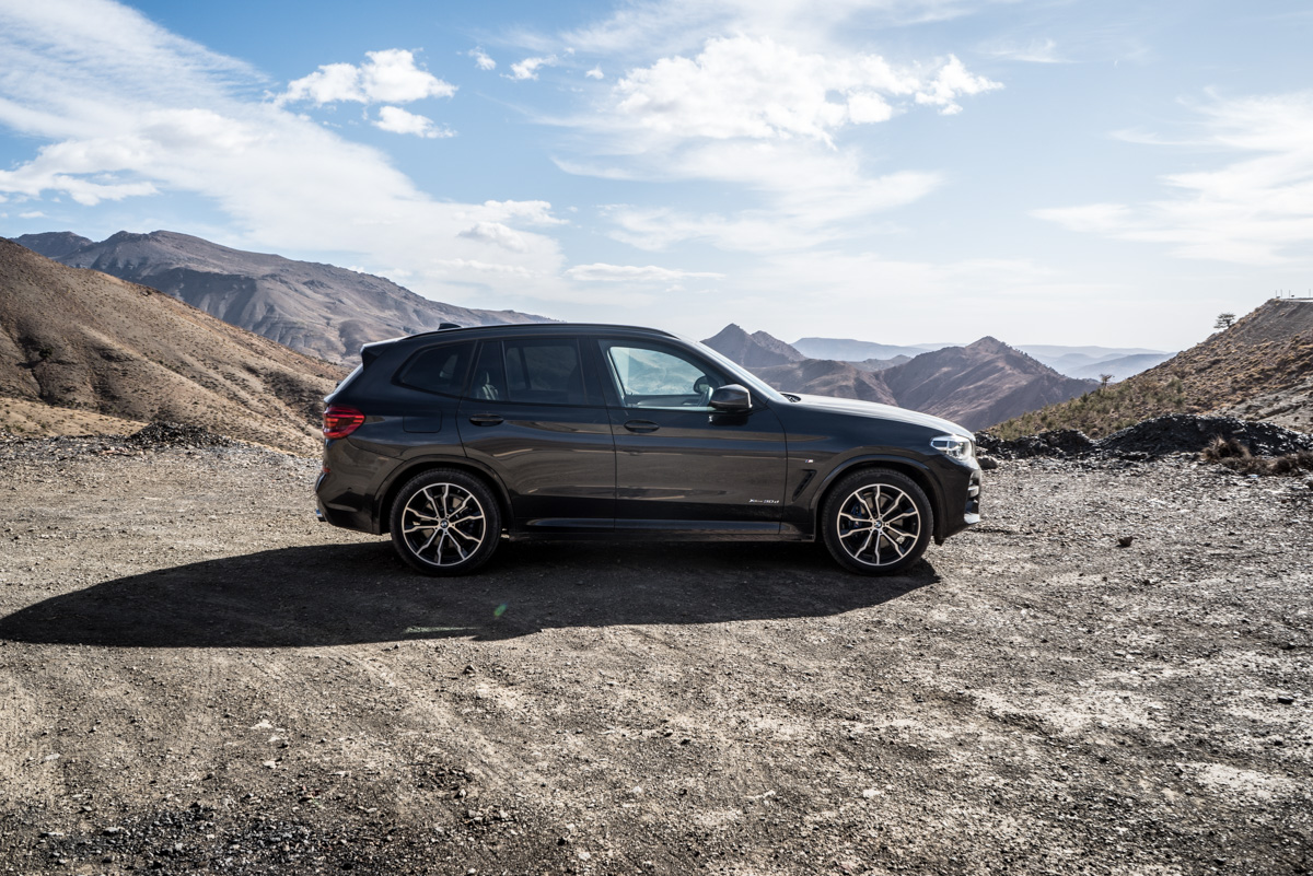 Dune Driving In Morocco With the New BMW X3 7