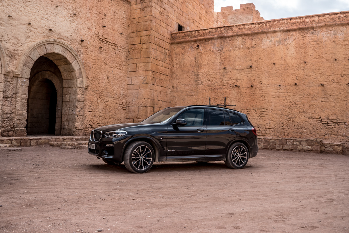 Dune Driving In Morocco With the New BMW X3 8