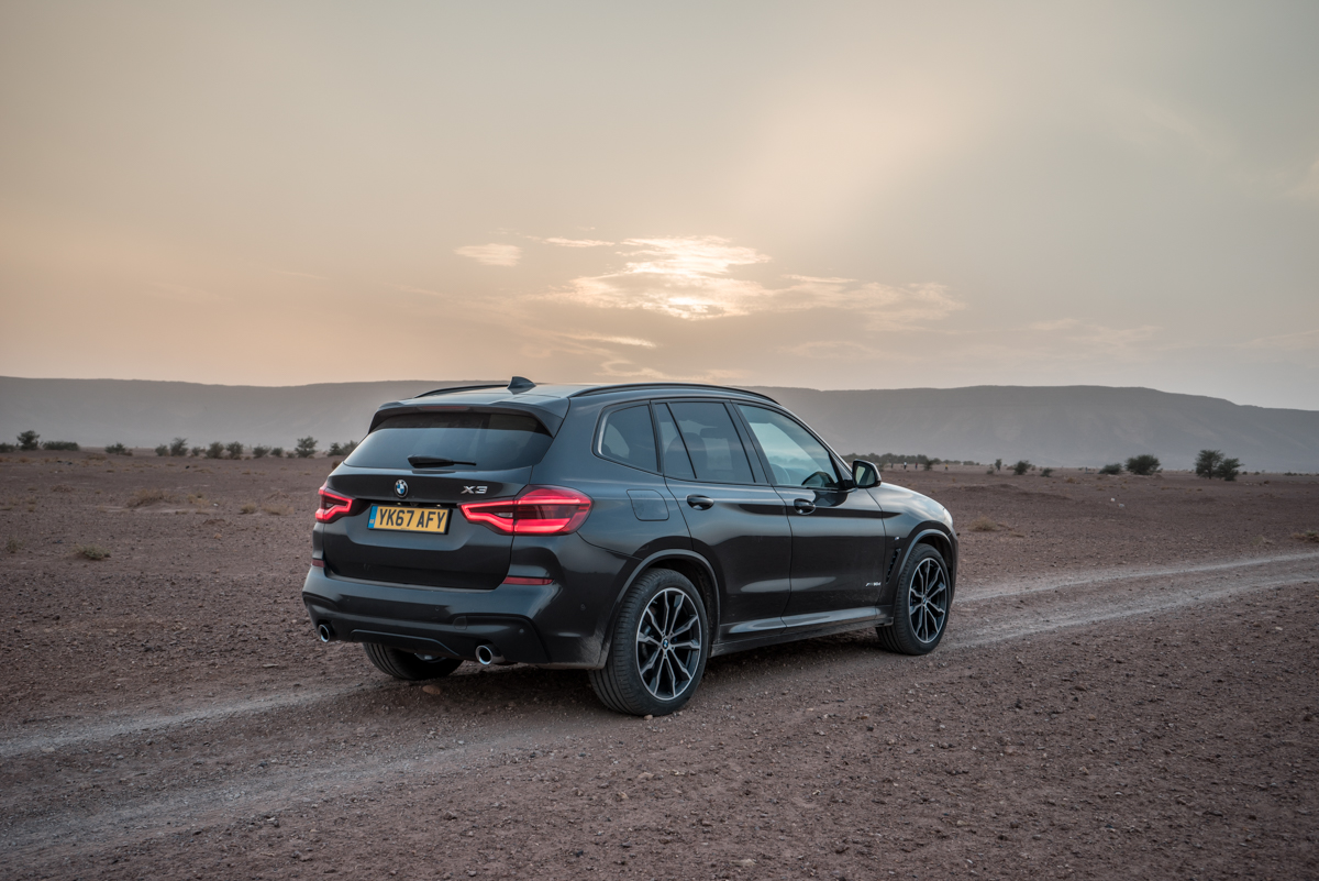 Dune Driving In Morocco With the New BMW X3 3