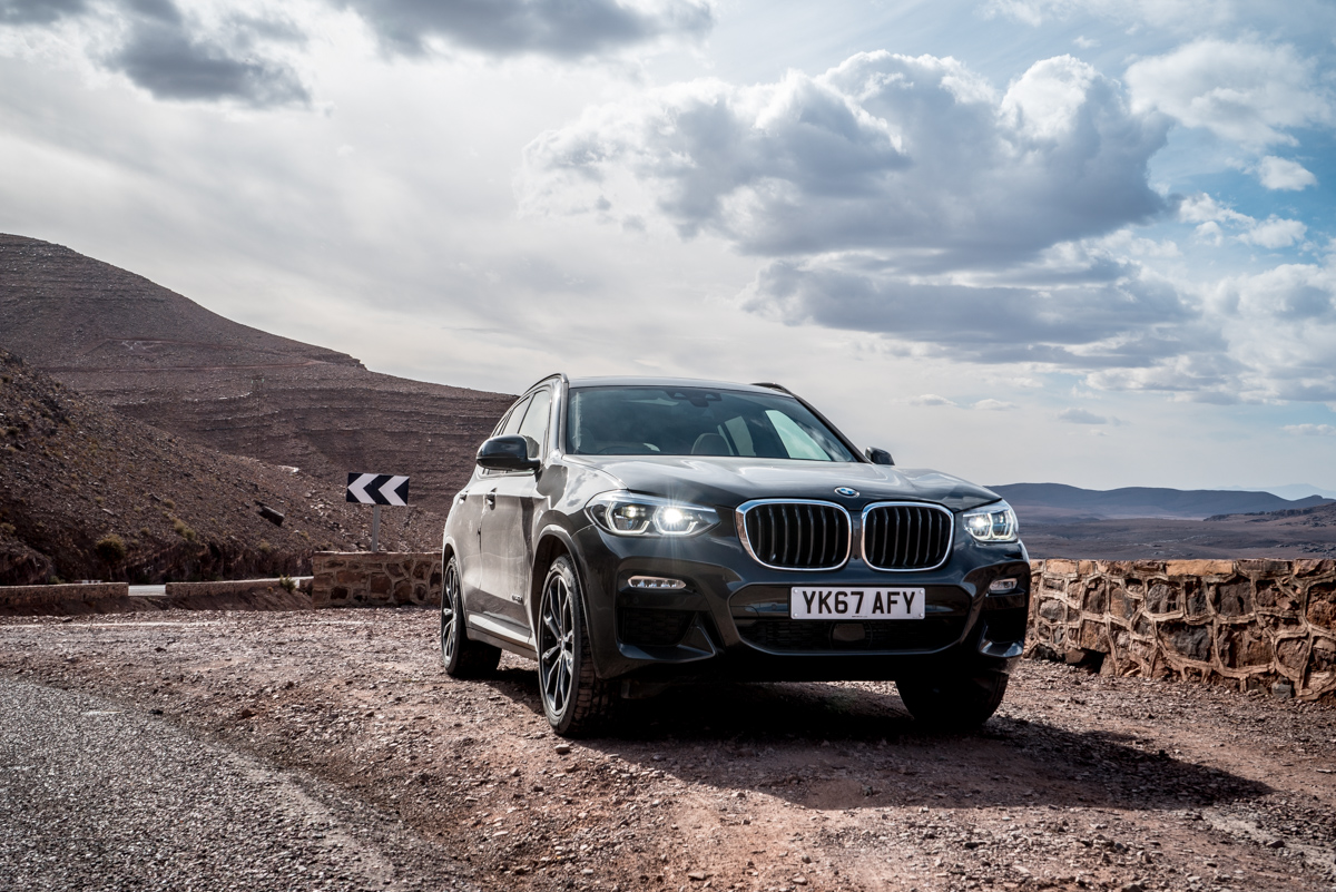 Dune Driving In Morocco With the New BMW X3 1