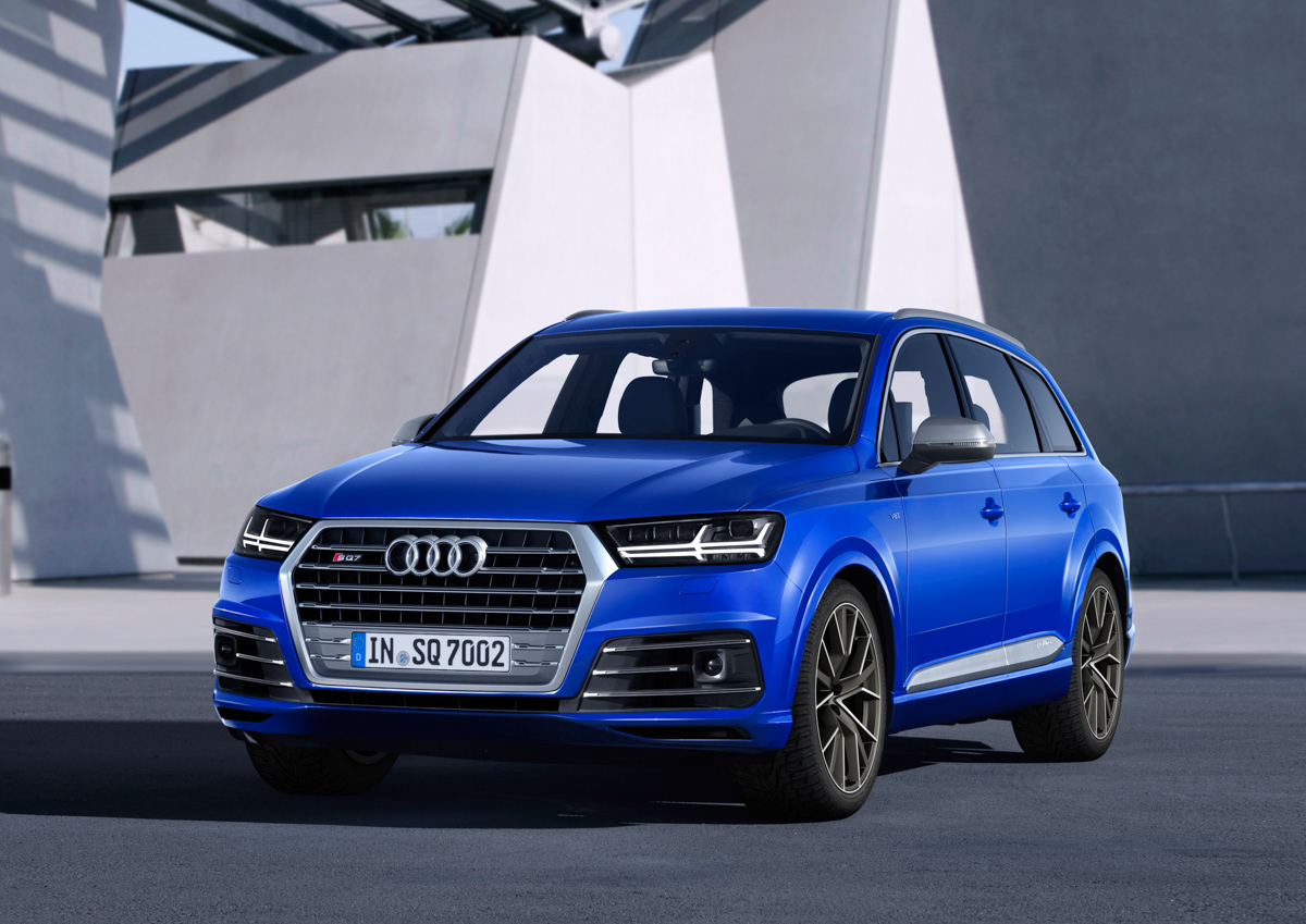 Premium SUV Feels With The Audi SQ7 6