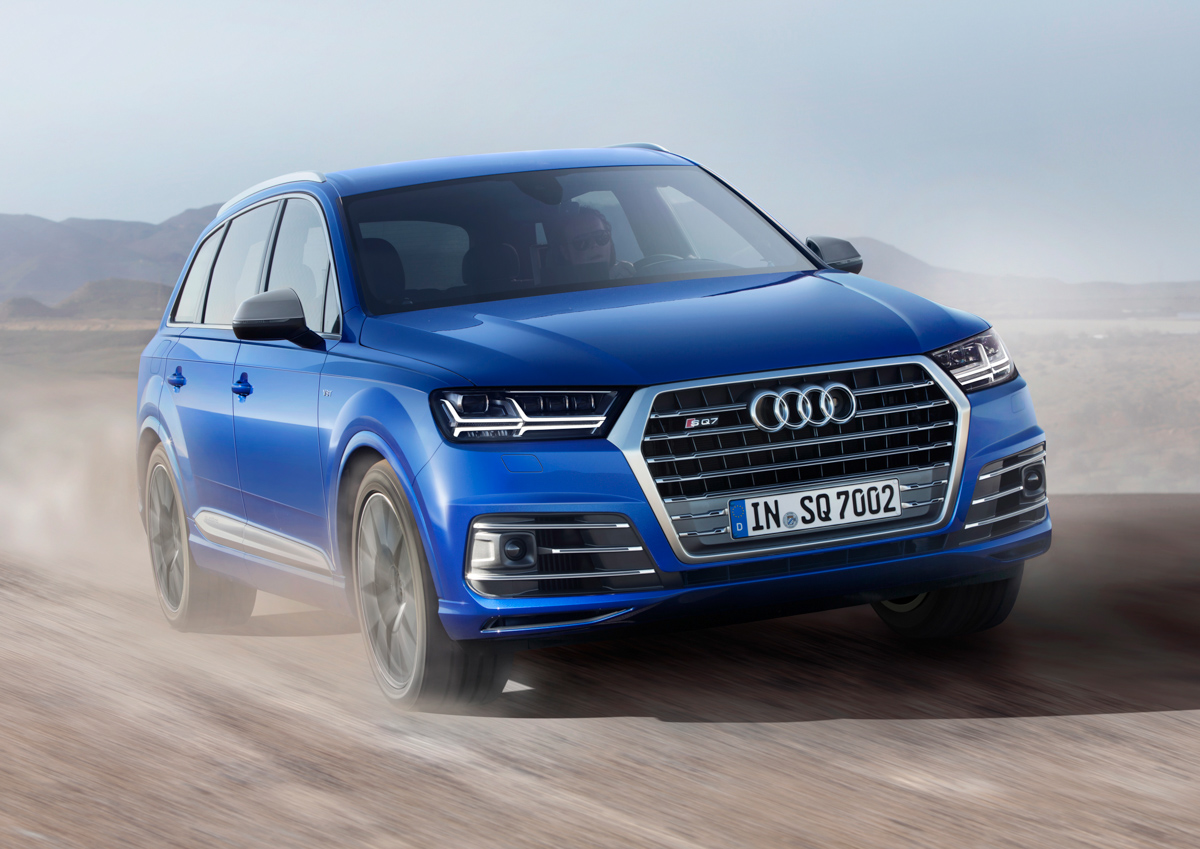 Premium SUV Feels With The Audi SQ7 3