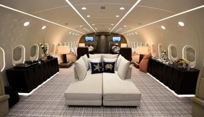 Ein Blick in den weltweit einzigen privaten Boeing 787 Dreamliner