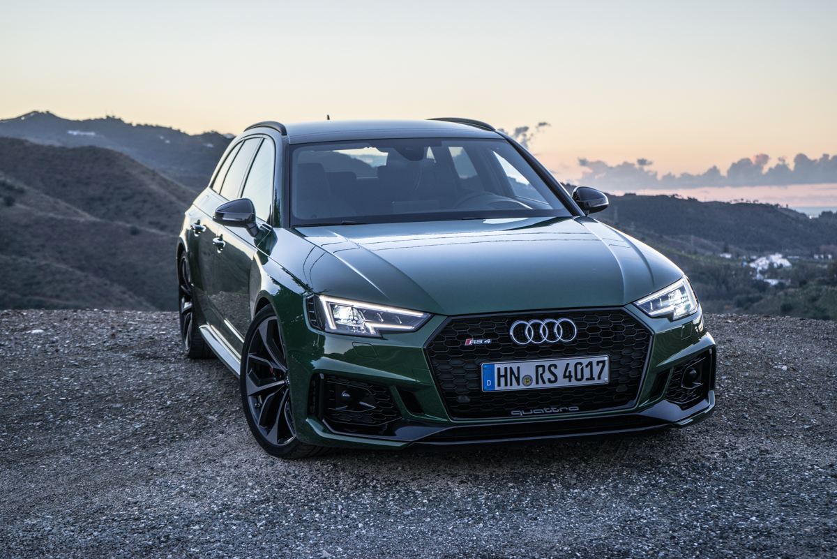 Touring Malaga With The New Audi RS4 Avant 7