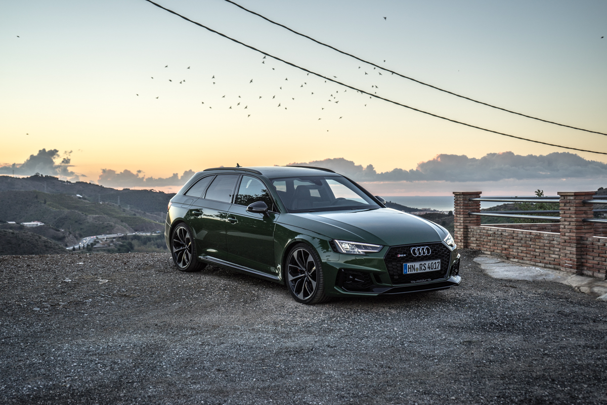 Touring Malaga With The New Audi RS4 Avant 6