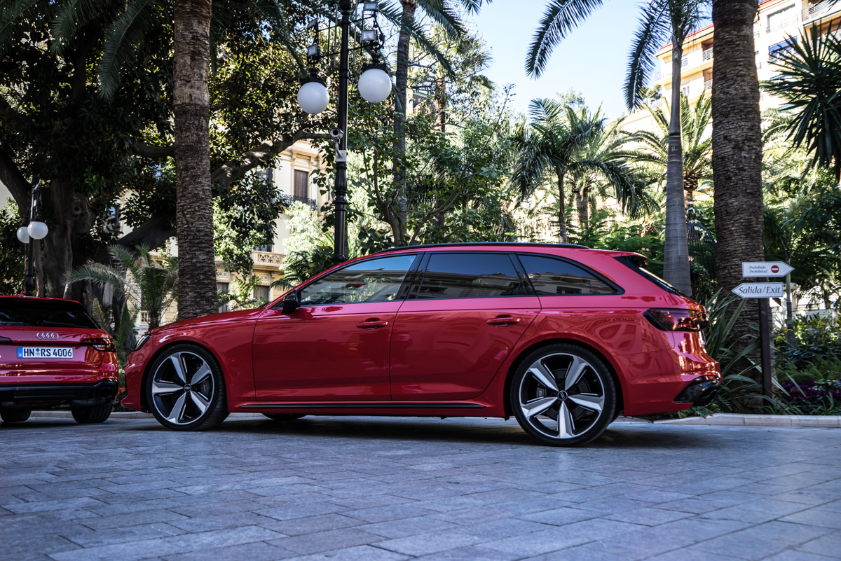 Touring Malaga With The New Audi RS4 Avant 8
