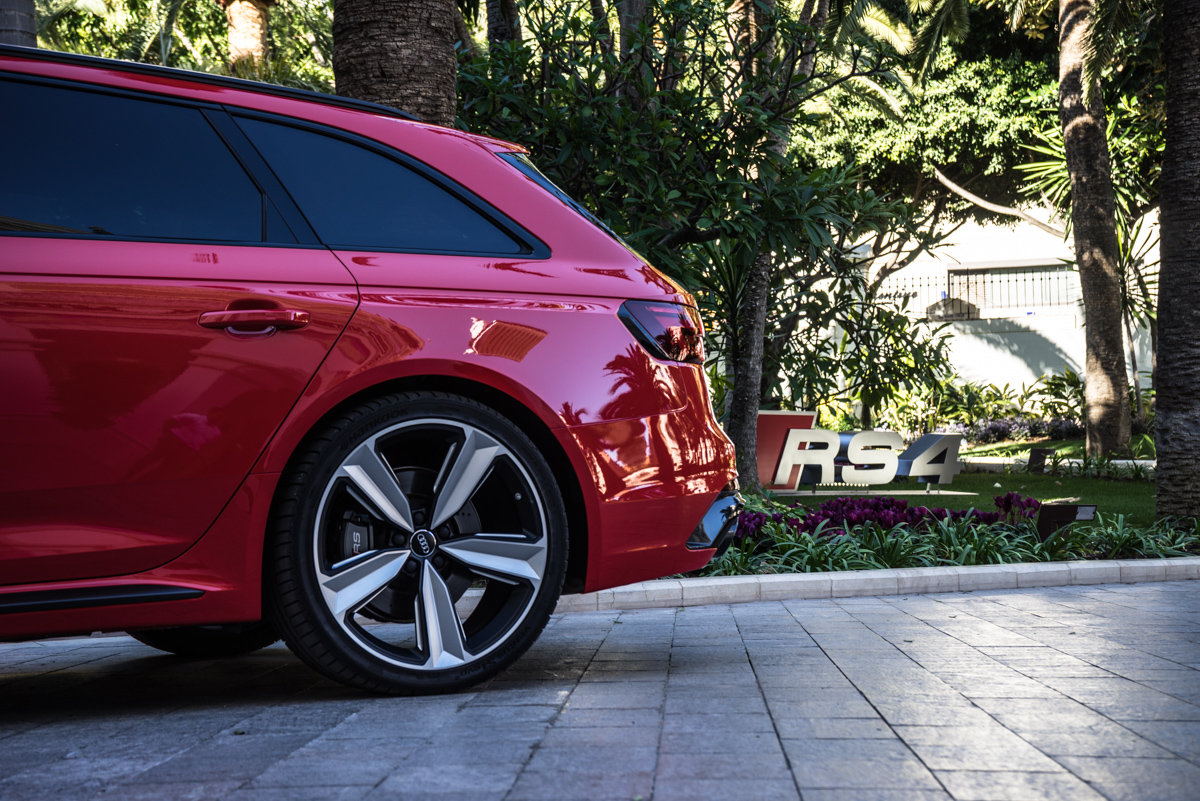 Touring Malaga With The New Audi RS4 Avant 5