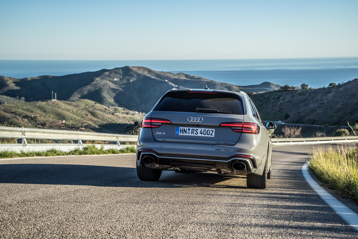Touring Malaga With The New Audi RS4 Avant 2