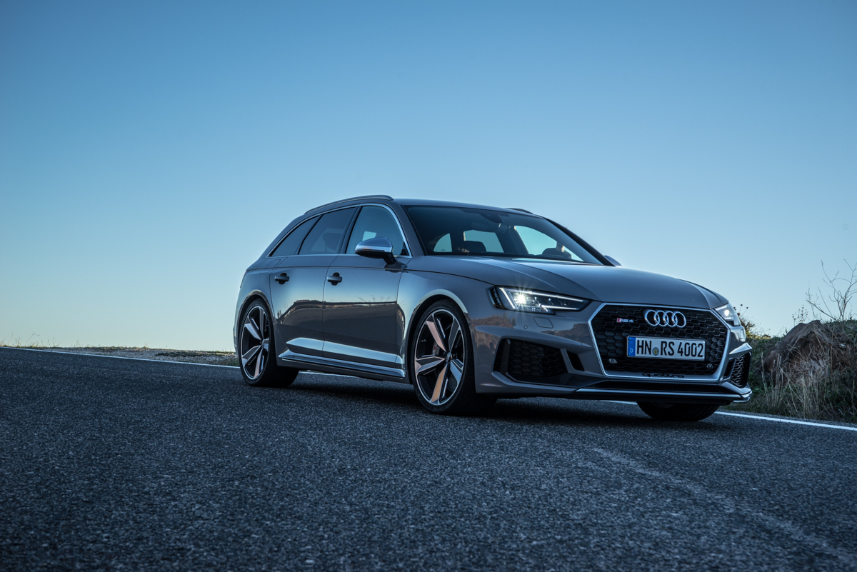 Touring Malaga With The New Audi RS4 Avant 9