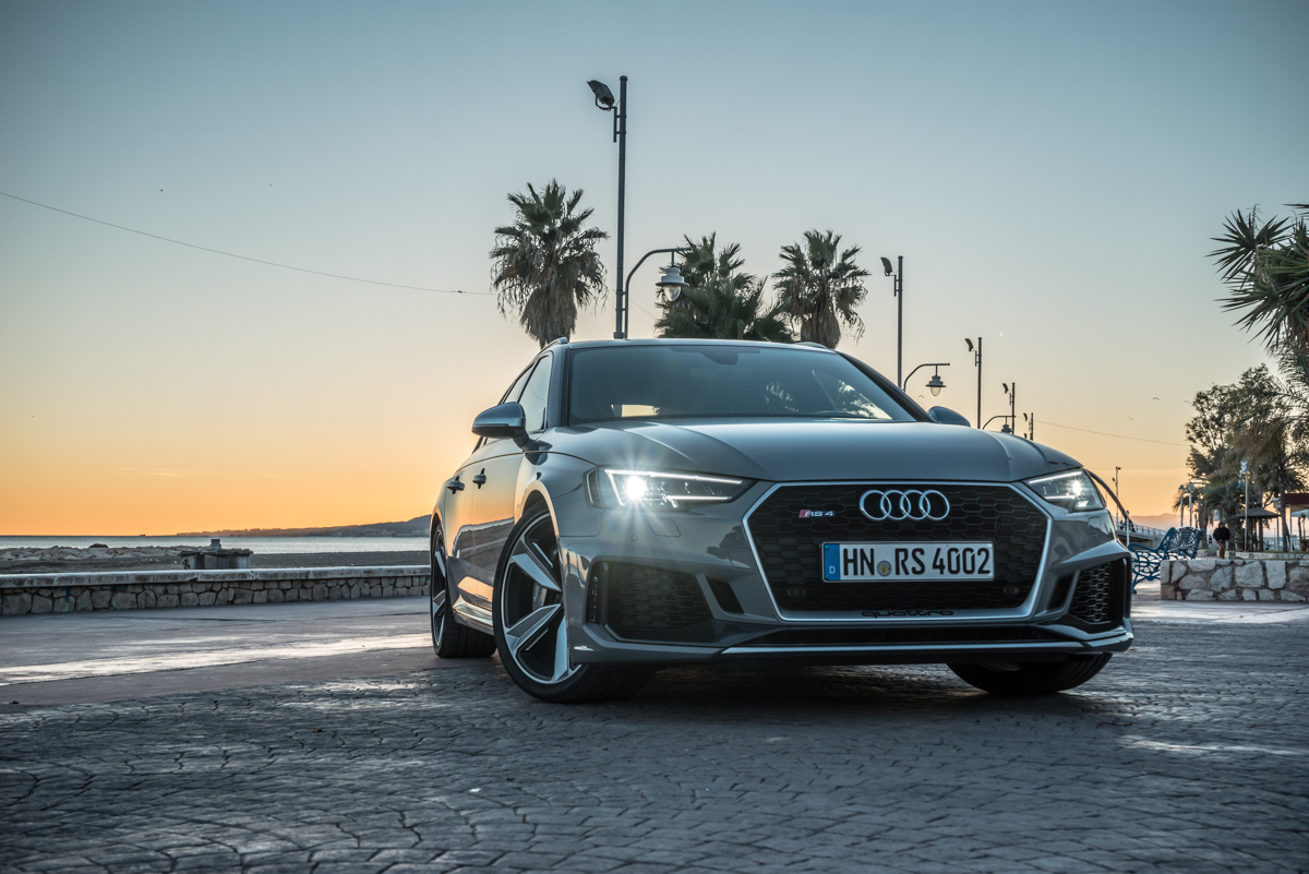 Touring Malaga With The New Audi RS4 Avant 3