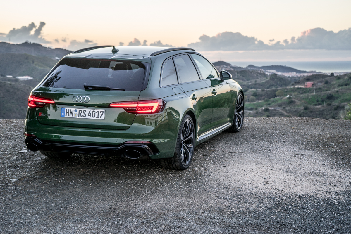 Touring Malaga With The New Audi RS4 Avant 10