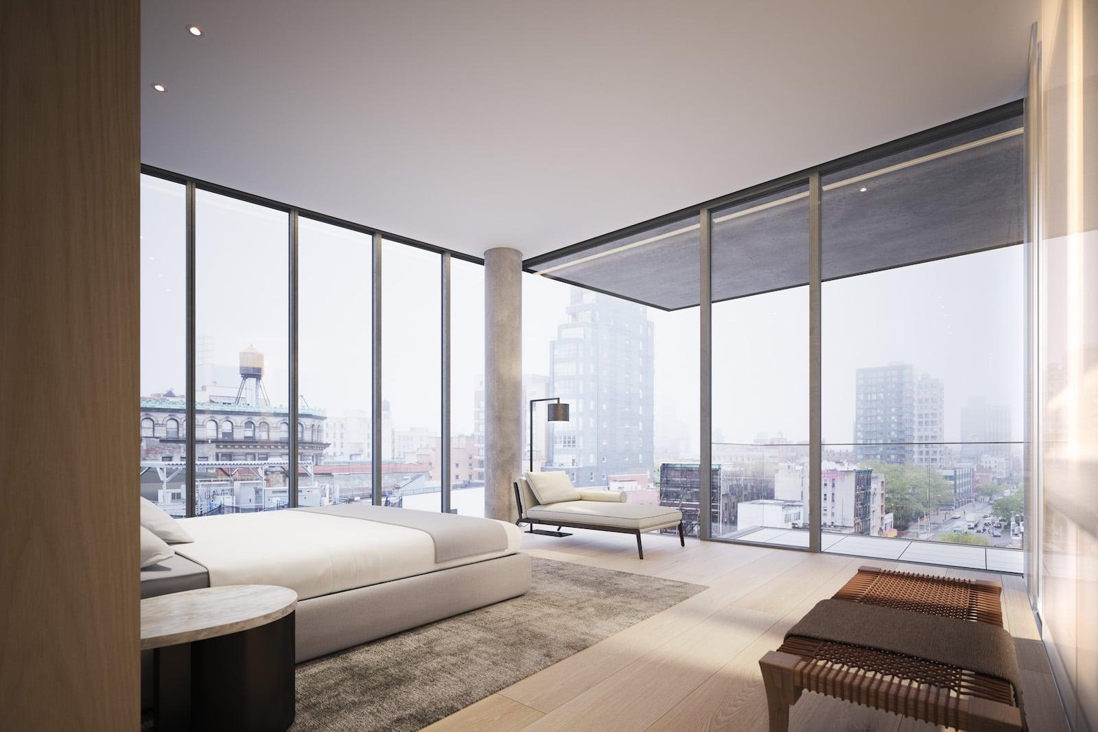 Moderne wohnung minimalistisches penthouse in berlin hat eine